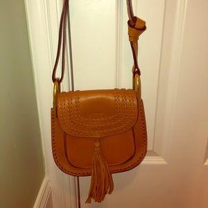 Chloe Caramel Tassel Bag